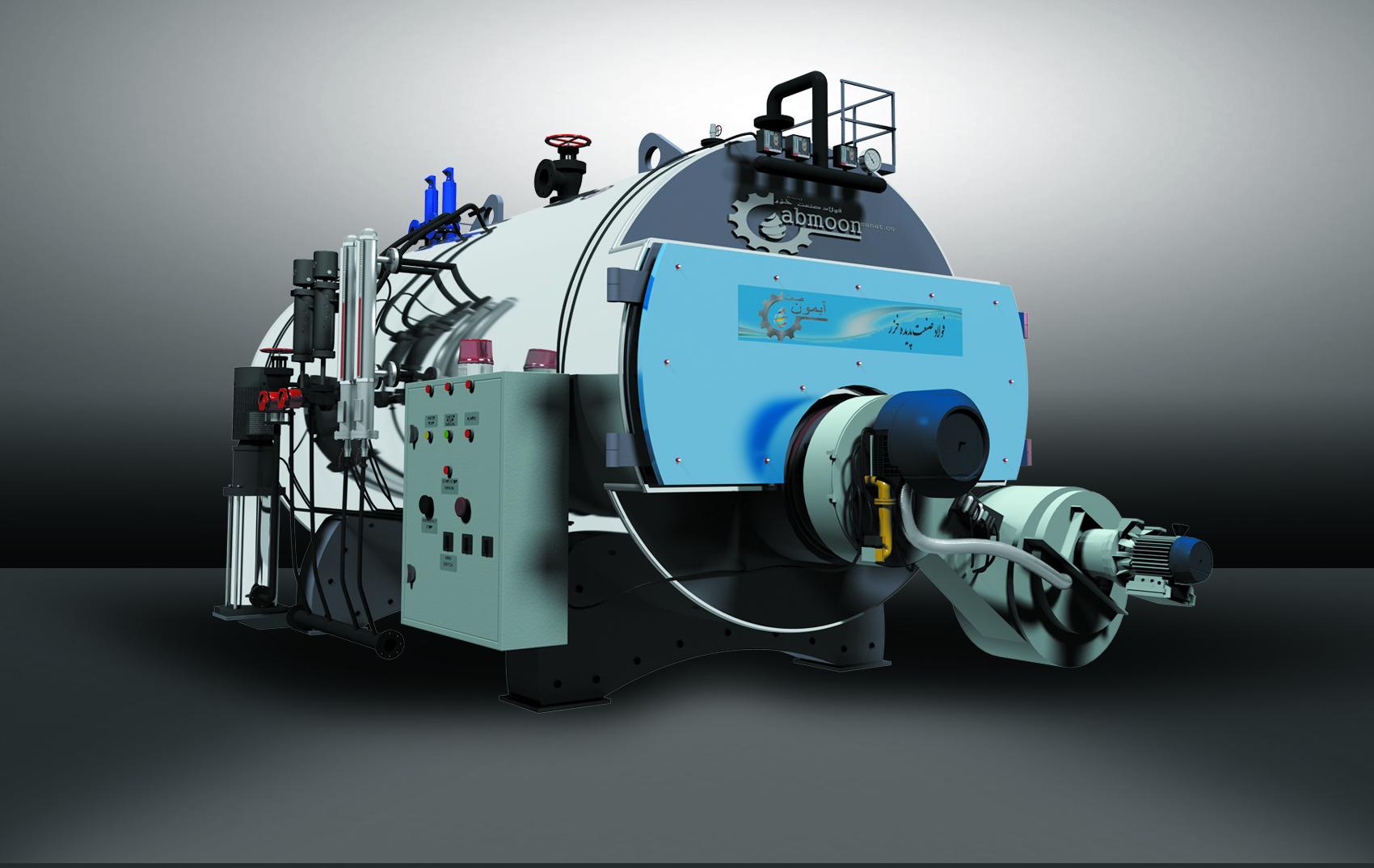 دیگ بخار و دیگ روغن داغ آبمون صنعتدیگ بخار و دیگ روغن داغ آبمون صنعت
